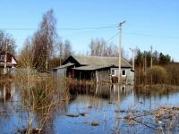 В Хвойной наконец-то отступает вода