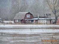 В Новгородской области вышли из берегов реки, которые не чистили 40 лет
