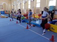 В новгородском «Манеже» прошли соревнования среди малышей
