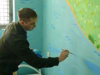 В новгородском СИЗО-1 впервые открылись камеры в художественном стиле