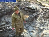 В Старорусском районе идут работы на месте падения советского бомбардировщика
