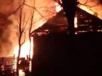В Великом Новгороде сгорел жилой дом