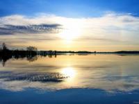 Выходные в Валдае начались с потрясающего восхода солнца