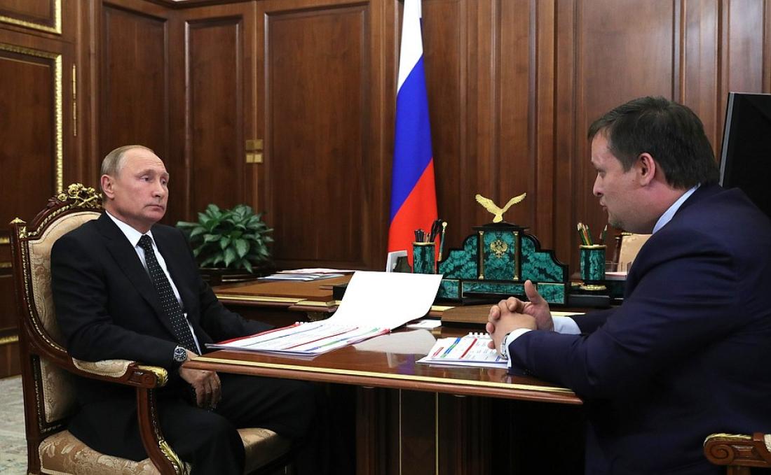 Андрей Никитин: разговор с президентом был предельно откровенным
