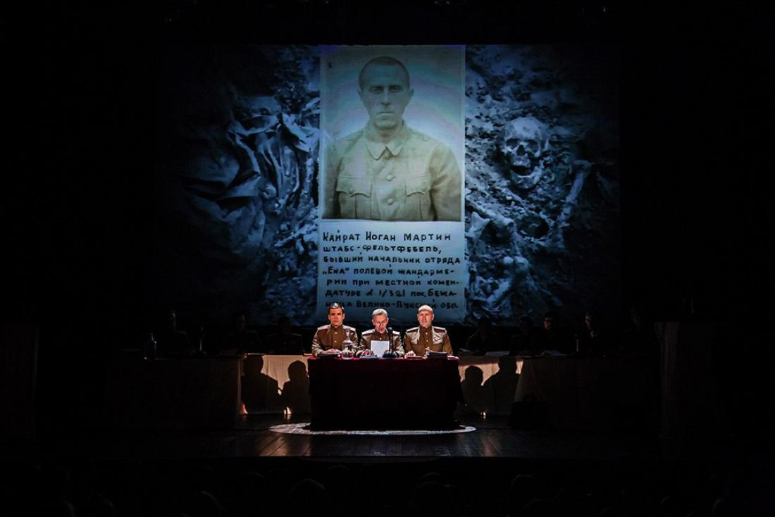 В 22:40 на НТ состоится показ телевизионной версии реконструкции суда над нацистами «Да судимы будете»