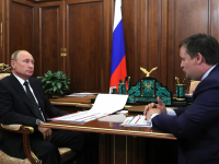 Андрей Никитин рассказал Владимиру Путину о росте инвестиций и экспорта в Новгородской области