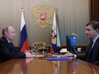 Андрей Турчак рассказал Владимиру Путину о новациях в «Единой России»