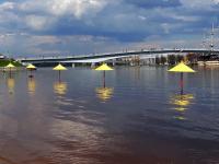 Было-стало: в Великом Новгороде Волхов берет своё
