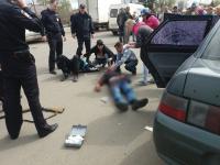 Фото: сегодня в Пролетарии мужчина застрелил таксиста