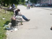 Фотофакт: на аллее Федоровского ручья прекратили убирать мусор