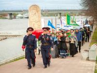 Фоторепортаж: «Егорий Вешний» побывал на Ярославовом дворище в Великом Новгороде