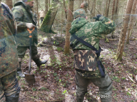«Лычковский» лагерь поисковиков поднял останки более 100 советских солдат