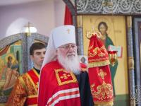 Митрополит Лев напомнил в проповеди о чуде Туринской плащаницы