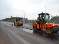 На трассе М-10 в Валдайском районе из-за ремонта меняют схему движения