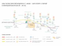 С 6 июня можно будет доехать по М-11 от Великого Новгорода до Твери