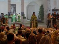 Спустя 90 лет в боровичский Троицкий собор вернулись богослужения
