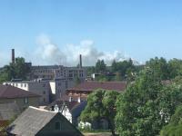 В различных населенных пунктах Маловишерского района жалуются на дым горящего полигона ТБО