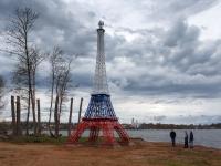 В Валдае установили Эйфелеву башню