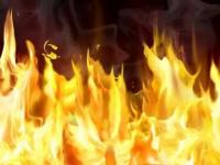 Вечером в Новгородской области произошли пожары в одно и то же время
