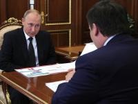 Владимир Путин поинтересовался, сколько новгородцев занимается физкультурой и спортом