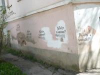 Здание «Алых парусов» покрыла сомнительная реклама