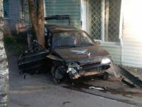 Здание банка в Мареве пострадало при «налете»