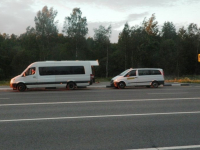 Чемпионат мира по футболу вызвал переполох среди пассажиров маршруток на Петербург