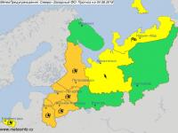 Новгородчине предстоит дождливая неделя с холодным вторником