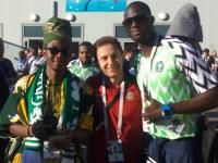 Новгородец: «Я увидел настоящего Месси!» Фото, видео и впечатления с матча Аргентина – Нигерия