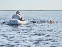 Новгородские моржи бросят вызов коварному Ильмень-озеру
