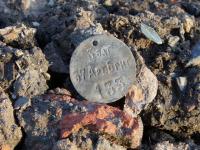 Новгородский археолог нашел увольнительный жетон армии Российской Империи