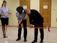 Сегодня руководство новгородской полиции перерезало красную ленточку