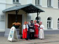 В Боровичах ярко и неслучайно отпраздновали День русской балалайки