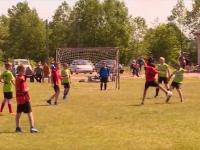 В Новгородской области расположена самая футбольная деревня