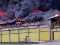 В Новгородской области сгорел цех птицефабрики «Белгранкорма»