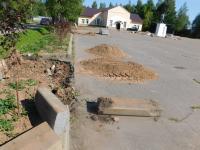 В Поддорье началась реконструкция площади