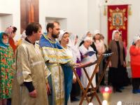В церкви при новгородском онкоцентре отслужили молебен покровителю врачей