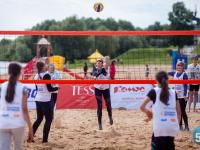 Великий Новгород вновь стал «эпицентром пляжного детского волейбола»