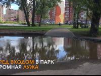 Видео: благоустроен ли парк «Луговой» на сегодняшний день?