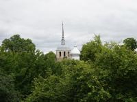 Бывшая новгородская крепость Порхов с удивительным парком