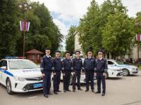 Дорожные полицейские отпраздновали свой День на Софийской площади (фоторепортаж)