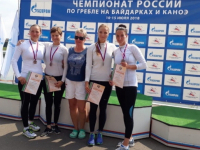Новгородские гребцы вошли в тройку лучших на чемпионате России