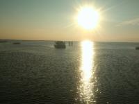 Очередной внедорожник искупался в водах Чертицкого залива