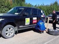 По дороге домой «Земляки» снова столкнулись с автомобильной проблемой