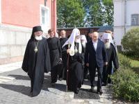 Владимир Путин почтил память преподобных Сергия и Германа, Валаамских чудотворцев