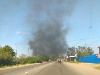 Шпалы, вагончики, цех по производству пеллет — в Новгородской области произошло пять пожаров за сутки