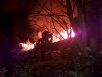 Старорусские путешественники переживают по поводу пожара в графской усадьбе Строгановых