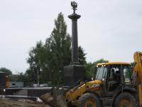 Торжественное открытие стелы «Город воинской славы» в Старой Руссе перенесли на осень