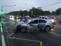 В аварии в Панковке пострадали четыре человека, в том числе ребенок
