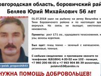 В Боровичском районе объявили поиски второго человека за сутки